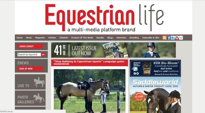 SBIES - Equestrian Life