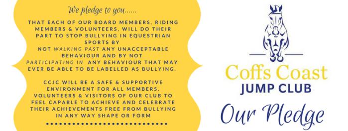 Coff Harbour Jump Club Pledge